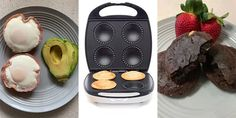 You may think the Kmart pie maker is just for making all sorts of wonderful pastry creations - but it can do much more. Mini Pie Recipes, Waffle Maker Recipes, Sweet Recipes, Snack Recipes, Cooking Recipes, Fun Cooking, Easy Recipes, Chicken Recipes, Easy Snacks