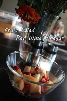Summer Fruit Salad with Nakano Red Wine Vinegar Recipe - Mom Start Everything Through Their Eyes and Mine