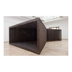 """'Horizon' pavilion for Albion Barn by David Adjaye at Haus der Kunst Museum  _ Photo Wilfred Petzi…"""
