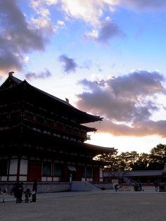 """✿ ❤  Japan...『初詣(薬師寺)』 (""""Hatsumode (Yakushiji)""""  """"Japan """"Mahoroba Yamato"""" Nara, Japan""""  (The ancient capital of Nara, Japan...)"""
