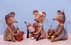 Country Mice Pinkeeps- doll making pattern