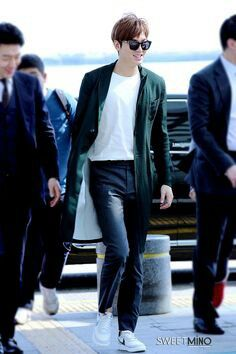 2015-4-23 at Incheon Airport to Malaysia   Lee Min Ho