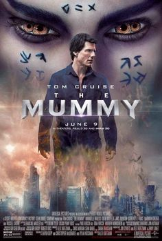 It is a reboot of The Mummy franchise and is the first and only installment in Universal's Dark Universe franchise. The film stars Tom Cruise as a US soldier who accidentally unearths the ancient tomb of an entrapped Egyptian princess (Sofia Boutella). The Mummy 2017 Movie, Mummy Movie, The Mummy Tom Cruise, Movies To Watch Online, Movies To Watch Free, New Movies, Movies Free, Latest Movies, Movies 2017 Download