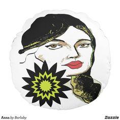Anna Round Pillow