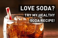 Healthy Recipes Using Soft Drink : Soda Alternative: Easy Recipe (only 2 ingredients!) - Healthy Recipes Using Soft Drink Video Healthy Recipes Using Soft Drink Cardiac Surgeon Dr. Steven Gundry explains how soda – even diet soda – is Lectin Free Foods, Lectin Free Diet, Low Carb Recipes, Diet Recipes, Cooking Recipes, Healthy Recipes, Soda Alternatives, Healthy Alternatives, Healthy Soda