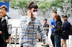 BIGBANG (w/out Seungri) arrival back in Seoul from Hong Kong 2015-12-03  #빅뱅 #bigbang