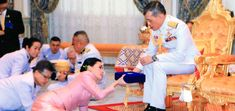 The king of Thailand has married the deputy head of his personal security detail, and given her the title of queen, a royal statement sai. Royal Brides, Royal Weddings, Old King, Surprise Wedding, Personal Security, Marriage Certificate, Don Juan, Bangkok, Youtube