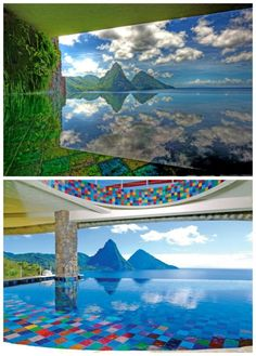 8 Outrageously Colourful Swimming Pools - The Chromologist