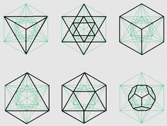 Metatron's Cube | The platonic solids