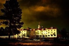 The Hauntings In The Stanley Hotel in Colorado--Stephen King was inspired by this hotel for The Shining