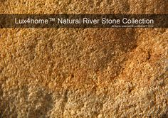 Natural River Stone Collection - Lux4home™ Catalougue...
