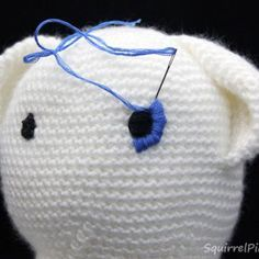 Amigurumi Facial Expression Making 10 - Crochet Hair Styles Crochet Hair Bows, Crochet Hair Styles, Making 10, Knitted Dolls, Crochet Dolls, Loom Knitting, Baby Knitting, Stitch Stuffed Animal, Diy Teddy Bear