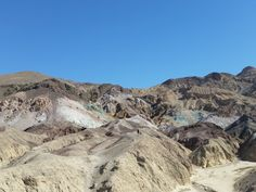 Artist Palette, Death Valley, USA #roadtrip