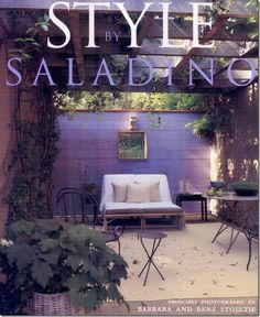 "Blog post on Joni of Cote de Texas favorite design books starting with ""Style"" By John Saladino"