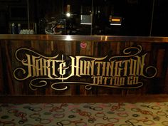 Someday I will get a tattoo from Hart & Huntington Tattoo Co., in Las Vegas.