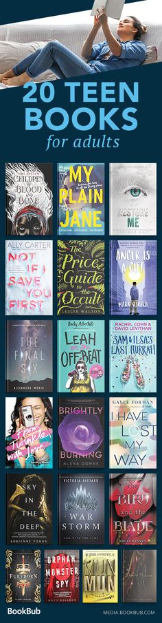 Great young adult books and books for teens to read, including a mix of fantasy, dystopian, romance, funny books, beach reads, and more.