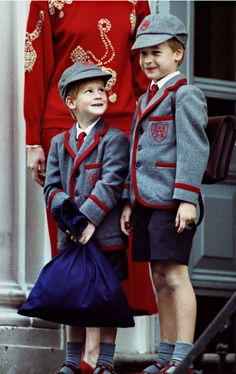 Both royal boys were together at the Wetherby School.
