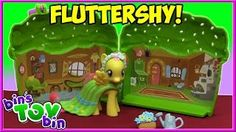 My Little Pony Fluttershy's Store & Carry Cottage! My Little Pony Videos, Fluttershy, Mlp, Toy Bins, Cottage, Explore, Toys, Barber, Youtube