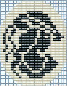 Cross Stitch Needles, Beaded Cross Stitch, Cross Stitch Patterns, Cross Stitch Silhouette, Cross Stitch Finishing, Beading Patterns Free, Bead Loom Bracelets, Crochet Diagram, Plastic Canvas Patterns