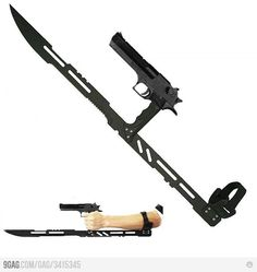 perfect weapon for the zombie apocalypse.
