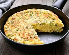 Fenugreek Frittata: By Ulli Stachl Television Food Producer, Food Stylist and Culinary Consultant Quiche Recipes, Brunch Recipes, Breakfast Recipes, Recipe For Frittata, Paleo Quiche, Lunch Snacks, Diet Food To Lose Weight, Sweet Potato Frittata, Baked Frittata