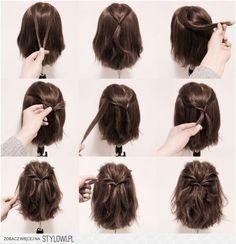 15 Möglichkeiten, Ihre Lobs zu stylen (Long Bob Frisur Ideen) – Frisuren - New Site 15 maneiras de estilizar seus penteados (idéias de penteado longo Bob) - hairstyles Braids For Short Hair, Long Ponytails, Twisted Ponytail, Hairstyles For Short Hair Easy, Long Bob Updo, Bob Hairstyles How To Style, Short Hair Dos, Hairstyles For Bobs, Short Hair Ponytail