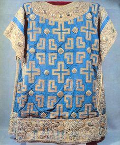 Byzantine fabric | Sakkos of Metropolitan Alexei, 1364, Byzantine fabric
