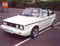 Golf 1 Cabrio Karmann Edition