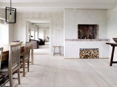 Douglas Fir floors by Dineson--just divine