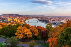 """I Capture Places In Budapest During Autumn And The Result Is An Amazing """"Game Of Tones"""" Visit Prague, Budapest Hungary, What A Wonderful World, Wonders Of The World, The Good Place, Seasons, River, Landscape, Fall"""