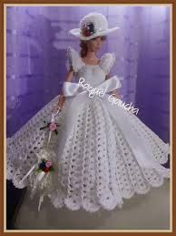 Resultado de imagen para muñecas vestidos en crochet pinterest