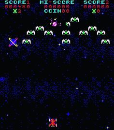 WEBSTA @favoritevideogamessince71 Phoenix (1980 Arcade). Gameplay