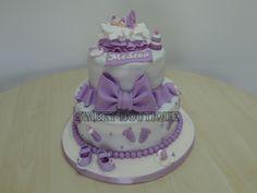 Tort de botez. Baby shower cake