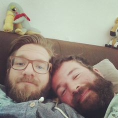 Estes Homens Fantásticos, suas barbas Maravilhosas (hairymatters)