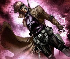 Gambit - X-Men - Hope is my Game Comic Book Characters, Comic Book Heroes, Marvel Characters, Comic Character, Comic Books Art, Comic Art, Comic Superheroes, Book Art, Marvel Comics
