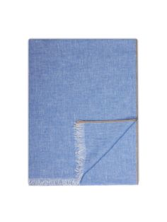 Plain light blue #scarf.  80x200 cm. #Corneliani #SS17 #accessories