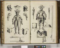 Art militaire a cheval: instruction des principes et fondements de la Cavallerie ~ a handbook for Knights