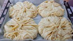 hazir-yufkadan-patatesli-borek Cheese Pies, Garlic, Bakery, Stuffed Mushrooms, Food And Drink, Party, Vegetables, Youtube, Life Hacks