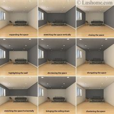 Dark room colors and lively wall color. - Dark room colors and lively wall color. Visually changed interior dimensions – dark room colors a - Room Interior, Interior Design Living Room, Living Room Designs, Living Room Decor, Interior Wall Colors, Interior Painting, Office Paint Colors, Interior Design Tips, Home Painting Ideas