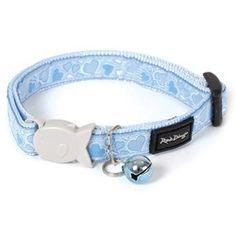 Blue Love Heart Collar