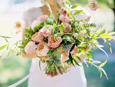 If we had to pick a color that was the driving force behind most SMP weddings, it would most assuredly be the perfectly soft, impeccably chic pale pink. a.k.a. blush. Have a look at this inspiration filled to the brim