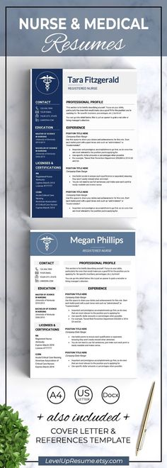 9 Best Nursing Resume Template Images Cv Template