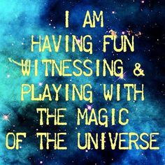 We can use the Law of Attraction to force the universe to give us everything you want. Learn how to use the law of attraction to manifest anything. Cosmic Quotes, Magic Quotes, Quotes To Live By, Life Quotes, Art Quotes, A Course In Miracles, Law Of Attraction Quotes, Spiritual Awakening, Positive Thoughts
