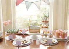 Princess and The Pea dessert table