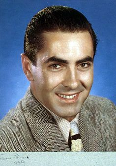 Tyrone Power (photo by Nickolas Muray)