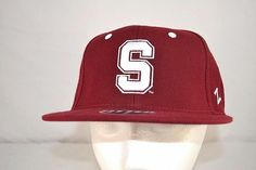 baa4dad1aeb Stanford University Cardinal Red Baseball Cap Fitted 7