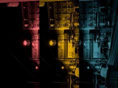 The town in Paris of night : www.pajama-days.com