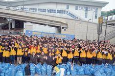 오산 하나님의교회 성도들 오산역 일대 거리정화 봉사 - 경기신문