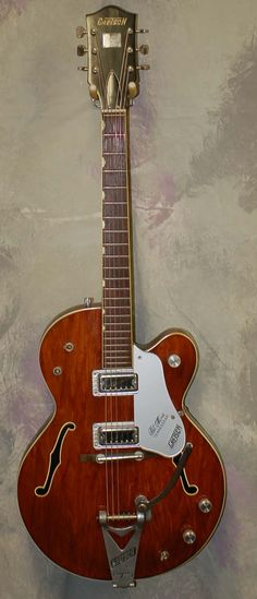 Good ole' Gretsch- my Dad was so talented with the guitar.  He could play anything.