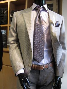 Zegna tie, Alberto jeans from Davelle Clothiers
